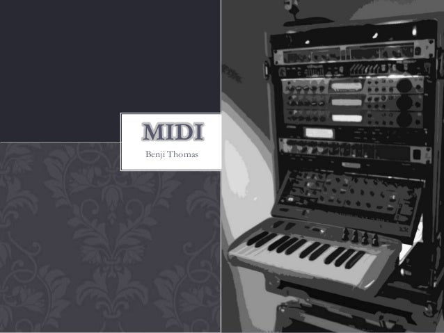 MIDI for A2 music tech students
