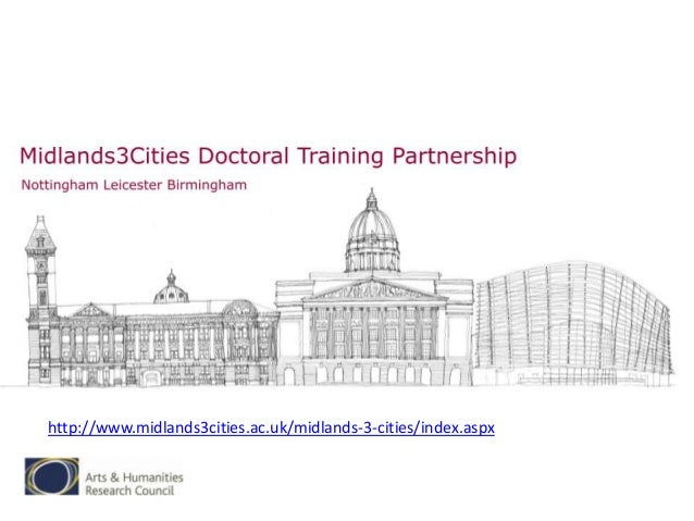 Midlands3Cities (Doctoral Training Partnership)