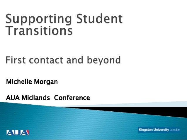 Michelle Morgan AUA Midlands Conference