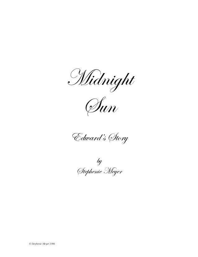 Midnightsun chapter1