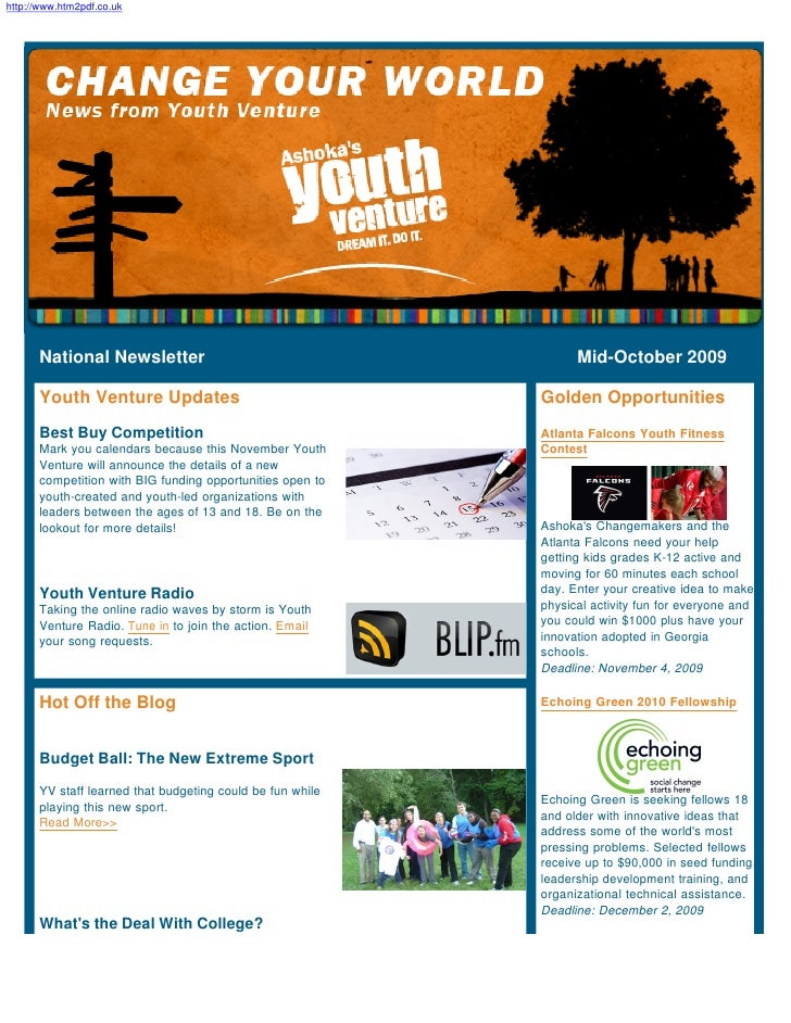 Mid-October YV National Newsletter 09