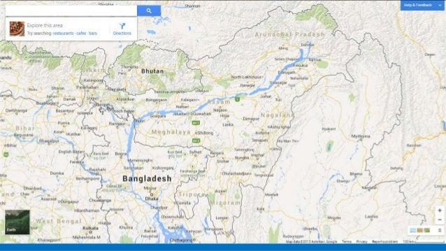 Speech enhanced gesture based navigation for Google Maps