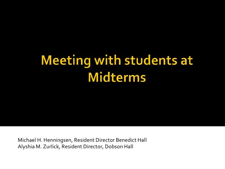 Midterm Grade Process Presentation