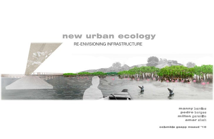 new urban ecology   RE-ENVISIONING INFRASTRUCTURE                                                manny barrios            ...