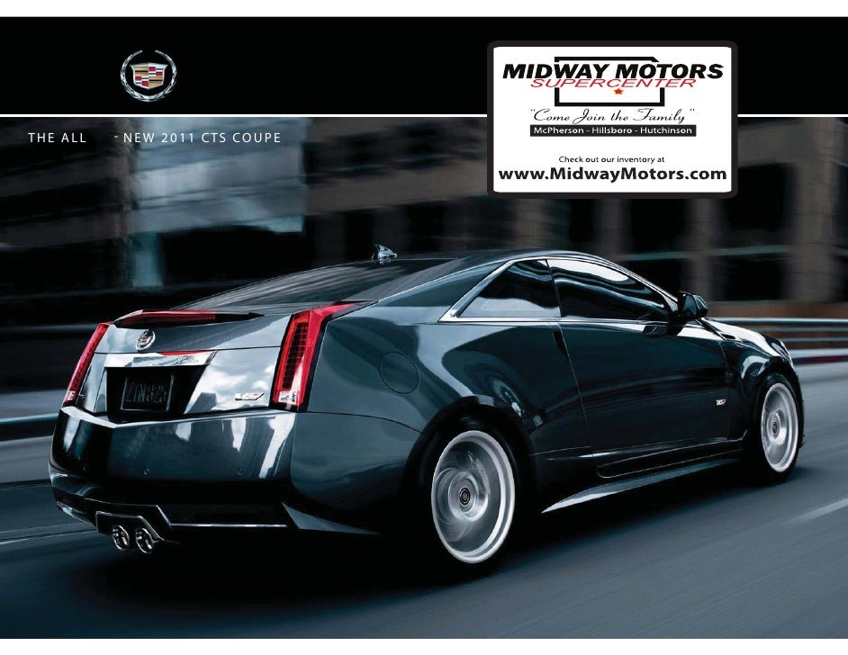 Midway motors 2011 Cadillac CTS Coupe