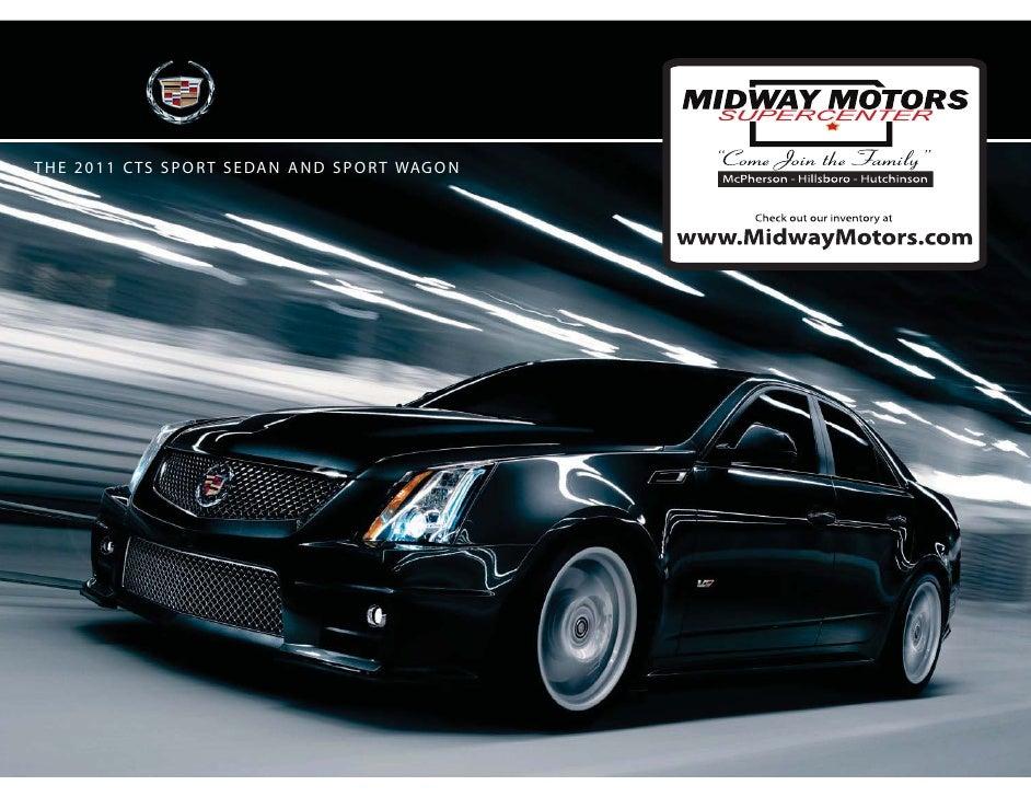 Midway motors 2011 Cadillac CTS Family