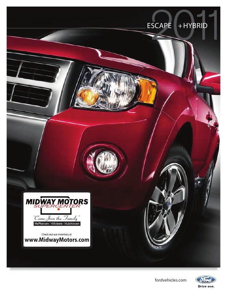 Midway motors 2011 Ford Escape
