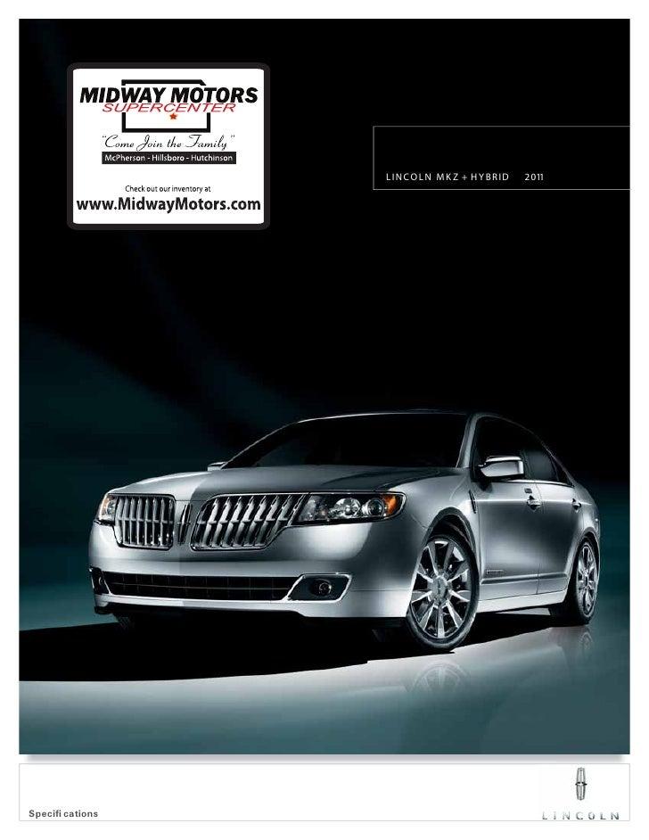 Midway motors 2011 Lincoln MKZ hybrid