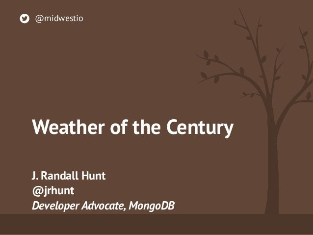 A Century Of Weather Data - Midwest.io