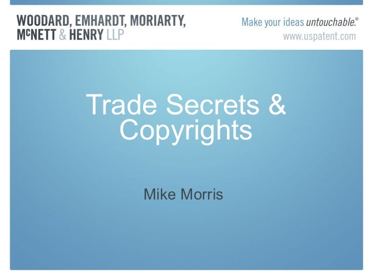 Midwest ip summit_copyright_trade_secret_handouts_2011_mmm