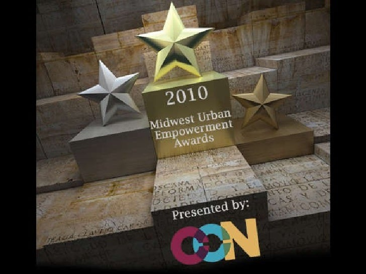 Midwest Urban Empowerment Awards Event