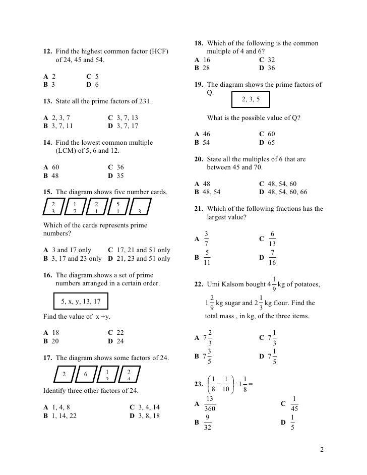 Math Form1 Lessons Tes Teach
