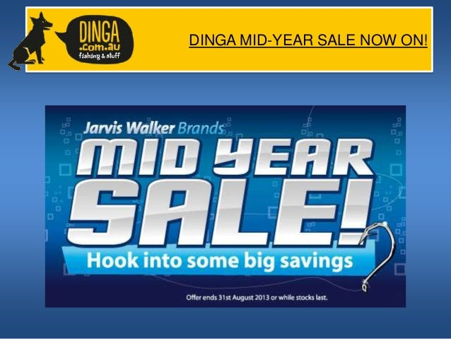 DINGA MID-YEAR SALE NOW ON! (Part 3)