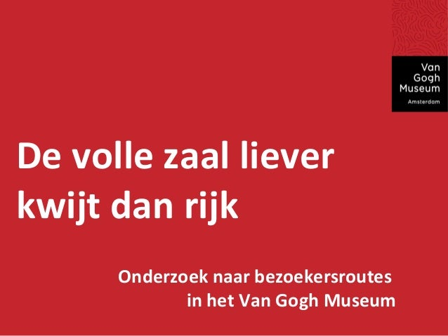 MIE 2013 presentatie: In de voetsporen van Van Gogh i.s.m. het Van Gogh Museum