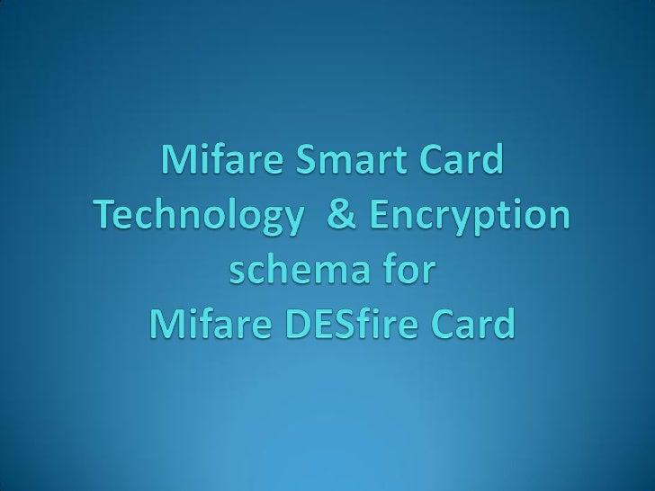 Mifare Desfire Technology
