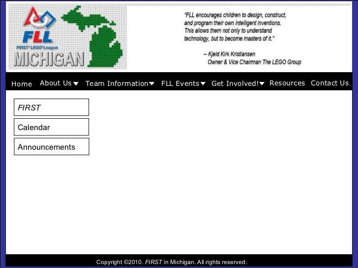 Mi fll website plan