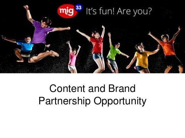 Mig33 brand partner engagement presentation (row)