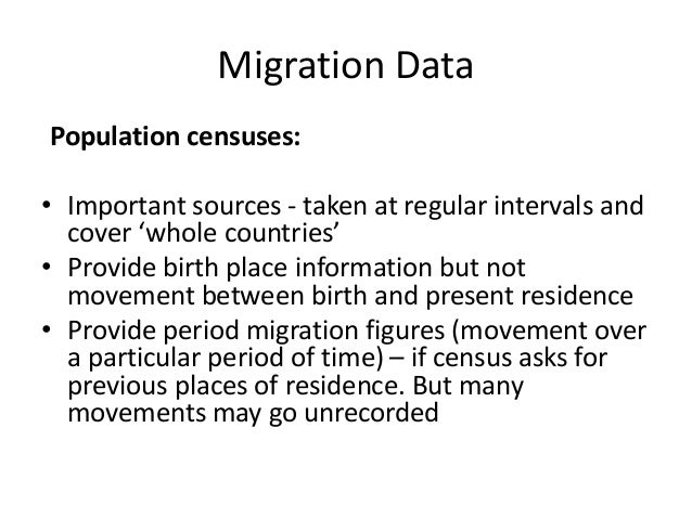 I need help writing an essay dealing with Population and Migration....?