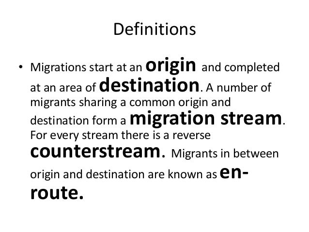 Migration Essays: Examples, Topics, Titles, Outlines