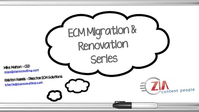 "Migrating to Alfresco Part II: The ""How"" – Tools & Best Practices for Renovating your ECM System"