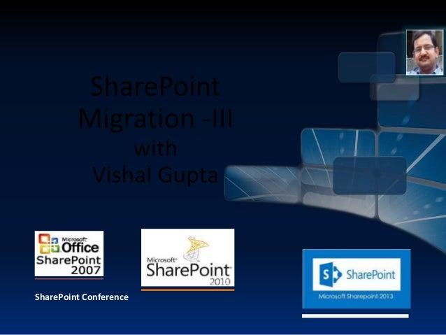SharePoint 2013 Migration
