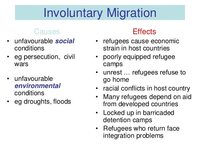 evaluate the consequences of migration essay Despite this,migration remains a controversial issuediscussions about the consequences of migration take place in communities and societies all around the world in both moving out of poverty - making migration work better for poor people.