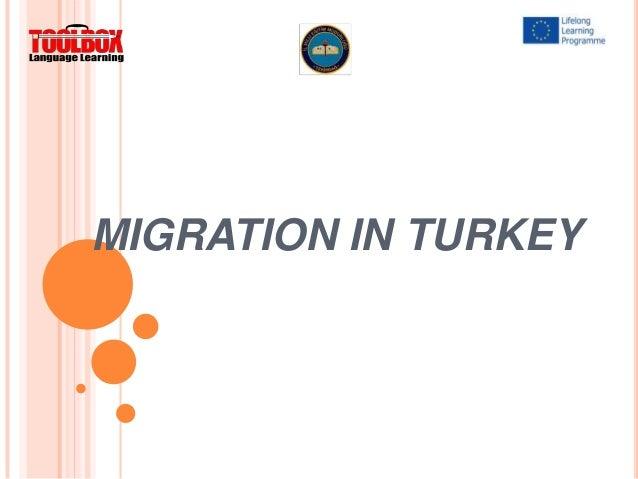 Migration in turkey