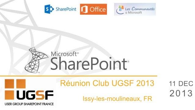 Migration sharepoint 2013