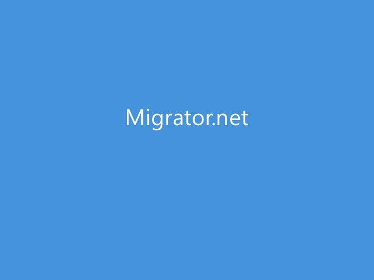 Migrator.net