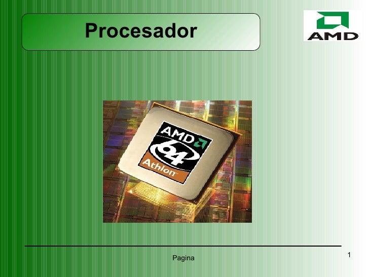 AMD Procesadores