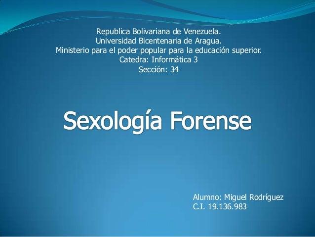 Republica Bolivariana de Venezuela. Universidad Bicentenaria de Aragua. Ministerio para el poder popular para la educación...