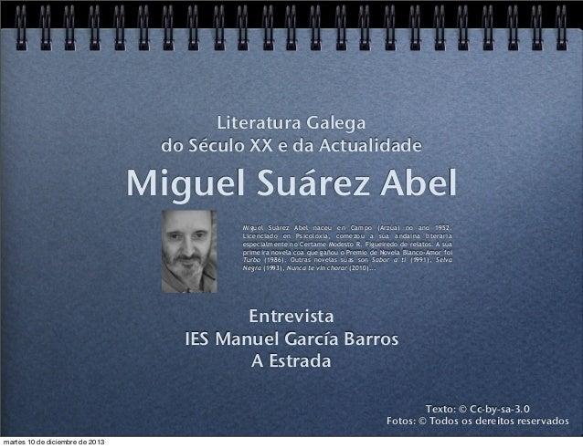 Miguel Suárez Abel
