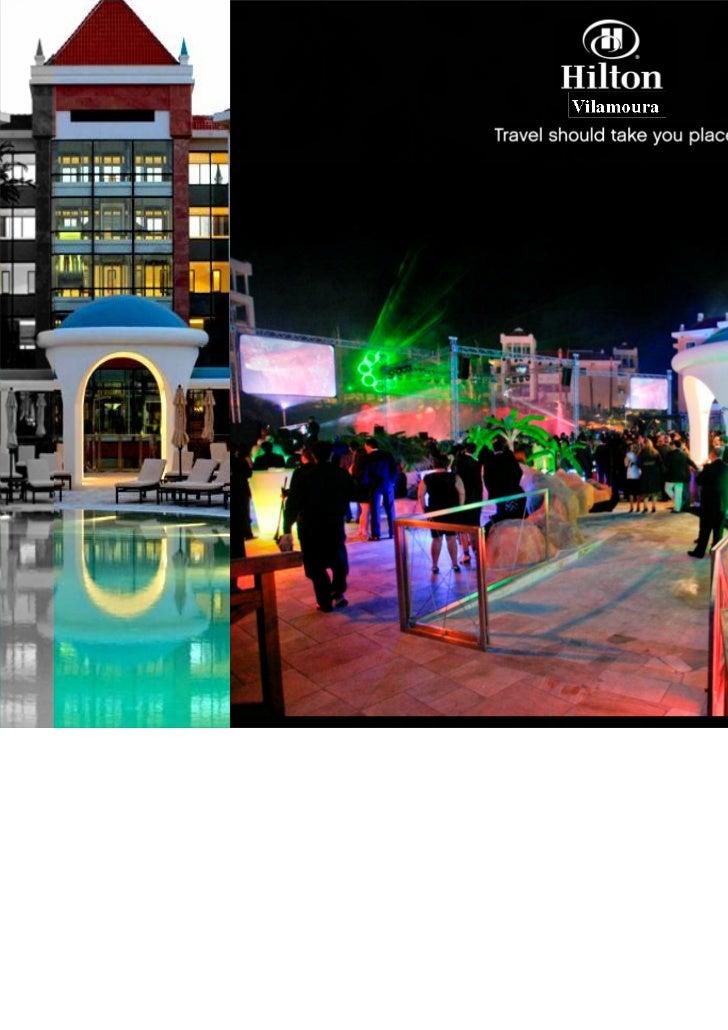 Hilton Vilamoura                                                     Rua da Torre d' Água, Lote 4.11.1B, 8125-615 Vilamour...
