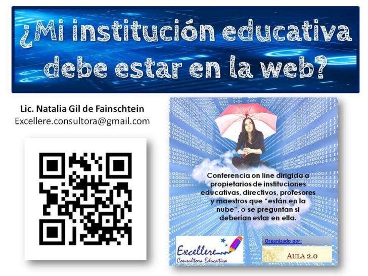 Marketing educativo:  ¿Mi institución educativa debe estar en la web?