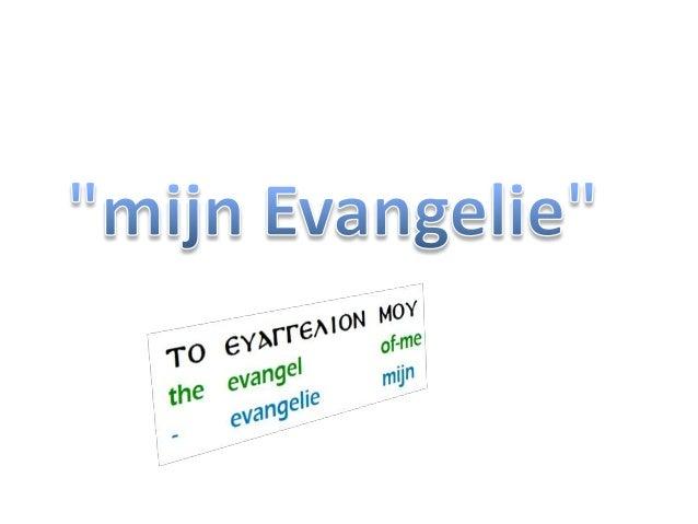 1Korinthe 15:11 Daarom dan, ik (= Paulus) of zij (=de twaalf), ZO prediken wij,