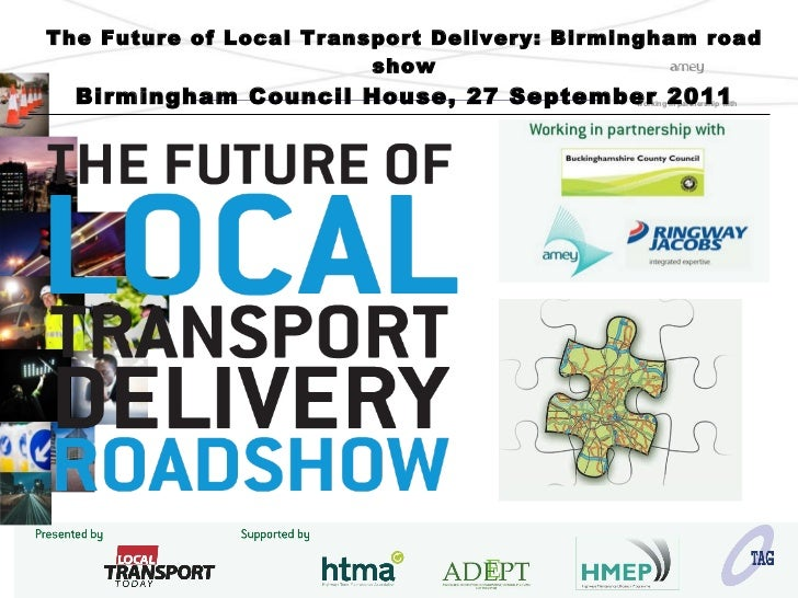 Mike Notman, Part 2: Vision for Highways Maintenance and Management in Birmingham
