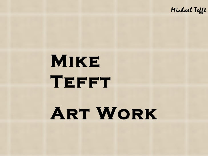 Mike art   1 a