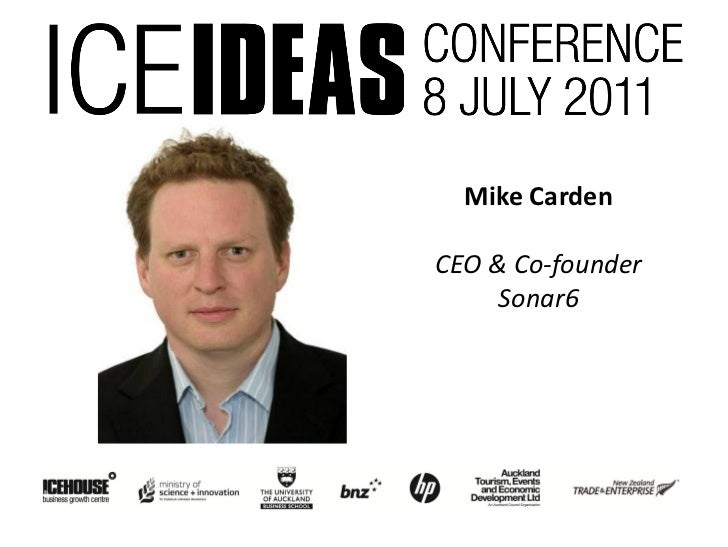 Mike CardenCEO & Co-founder     Sonar6