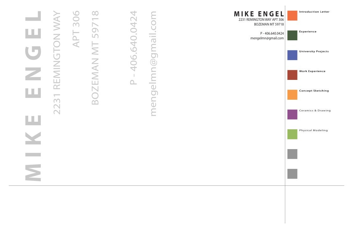 MIKE ENGEL                    Introduction Letter     MIKE ENGEL              2231 REMINGTON WAY                          ...