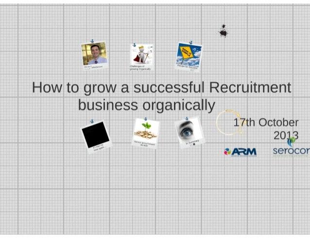Mike Gawthorne presentation - Recruitment Directors event Oct 2013