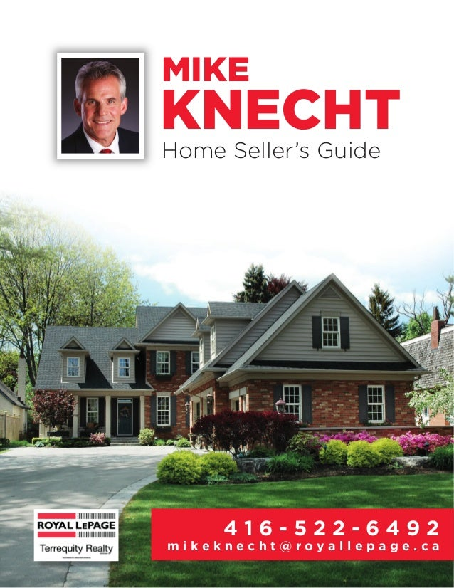 Mike Knecht Royal Lepage Terrequity Real Estate Home