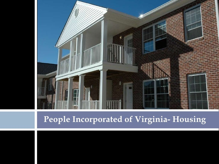People Incorporated of Virginia- Housing