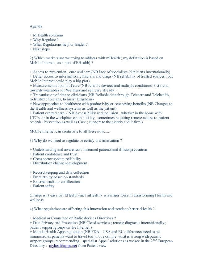 Mike Short O2/Telefonica #MWC14 #mHealth