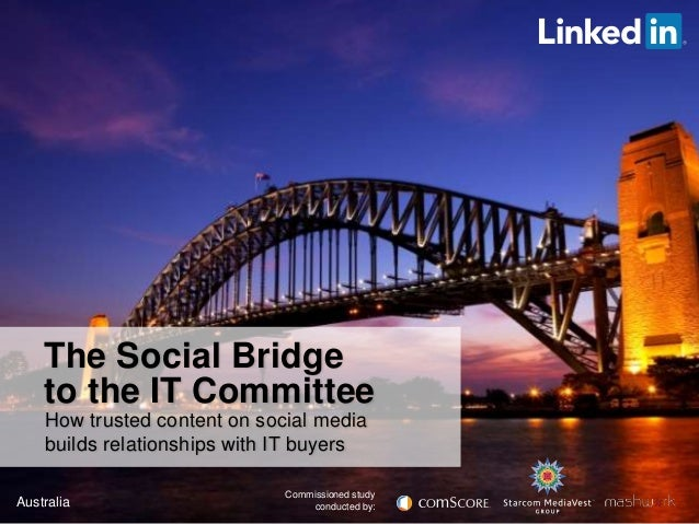 Sydney Tech Breakfast: Presenting the Social Bridge to the IT Committee