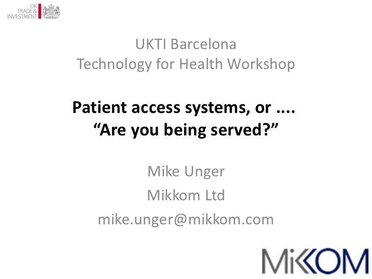 Mike Unger MikkomLtd