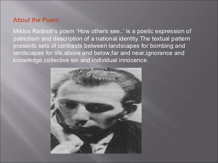 Miklos Radnoti Poems Miklos Radnoti Power Point 22