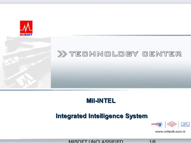 Mil-INTELIntegrated Intelligence System