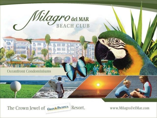 Master Plan – Milagro del Mar Beach Club Hotel