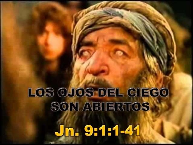 • El evangelista Juan coloca este milagro  al final de la fiesta de los tabernáculos  (Jn. 7:2) posterior a la celebración...