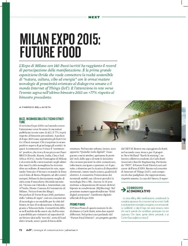 Milan Expo 2015: Future Food